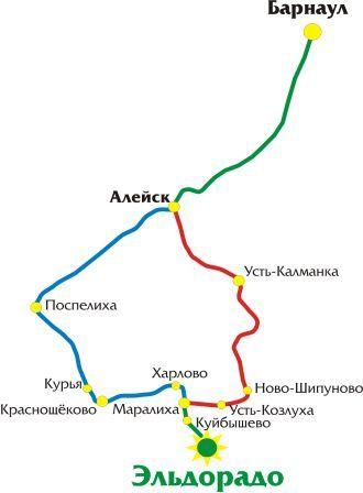 Показать схему проезда