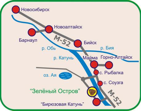 Схема проезда в базу отдых лукоморье